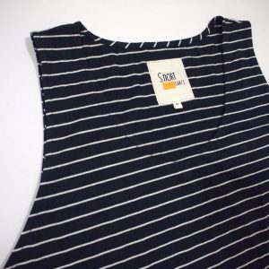 Tank Top in Stripes (Dark Grey)
