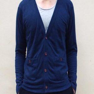 Weekender Cardigan (Navy Blue)
