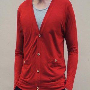 Weekender Cardigan (Red)