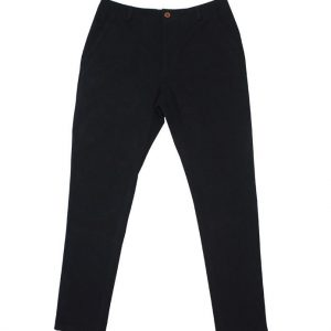 Corduroy Tapered Pants (Black)